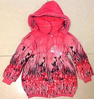 """Пальто """"Цветок"""" с капюшоном, на рост 130-150 см, (в рост. 3 шт.)"""