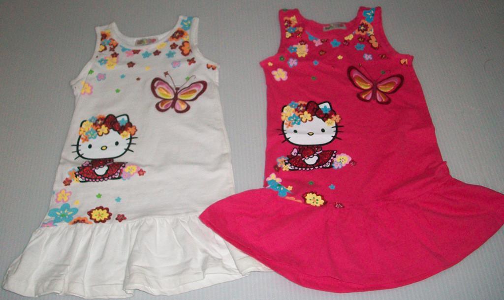 """Сарафан """"Hello Kitty"""" на 2-7 лет, в упаковке 6 шт."""