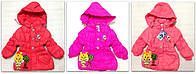 "Пальто пуховик ""Пчелка"", на 3-5 лет (в рост. 3 шт.), фото 1"