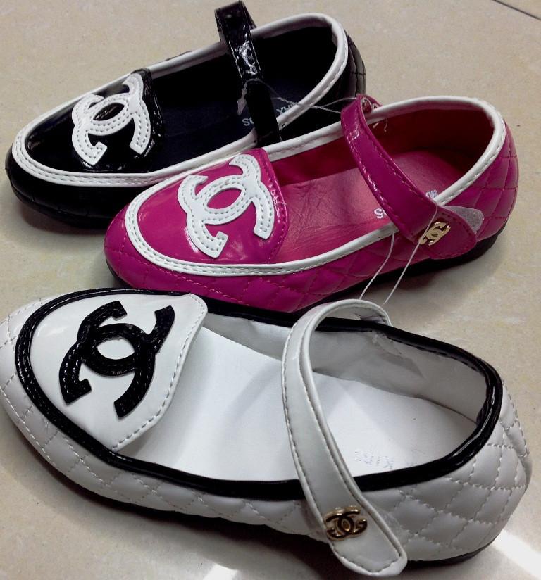 """Туфли """"Chanel"""", размер 26-30, в рост. 5 шт."""