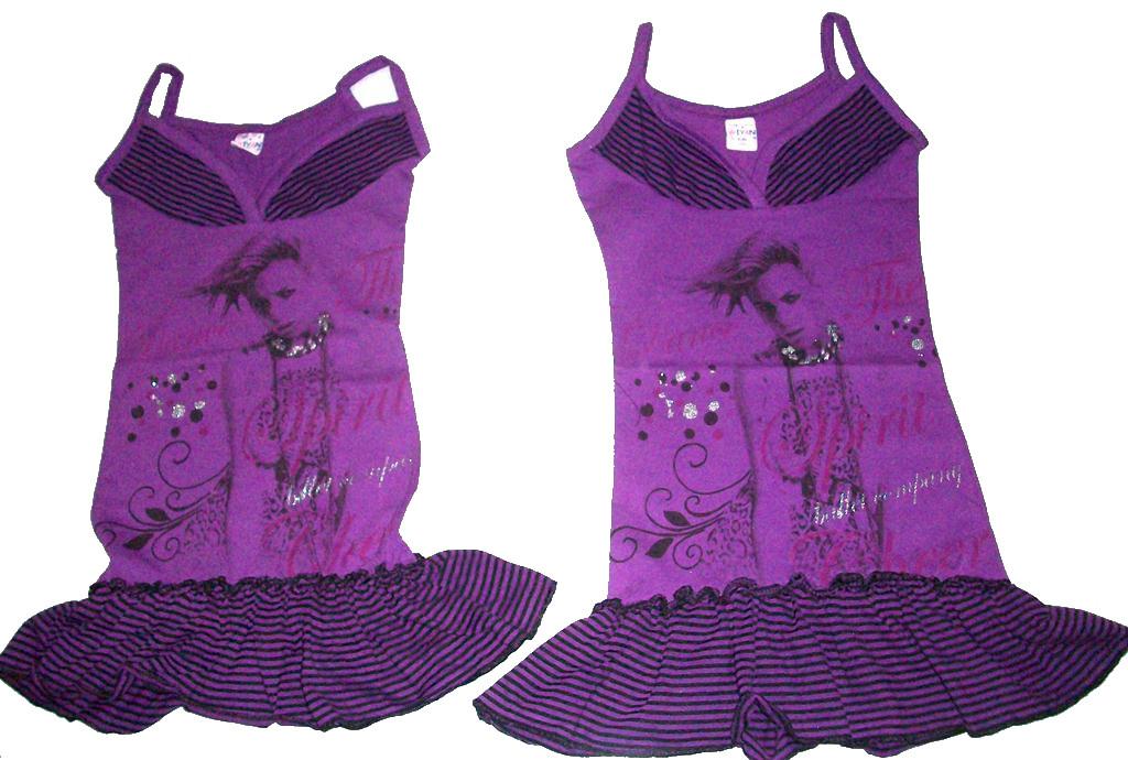"""Сарафан """"Танцы – фиолетовый"""" на 3- 6 лет, в упаковке 4 шт."""