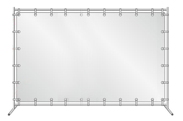 Аренда каркаса для баннера 2х3 м