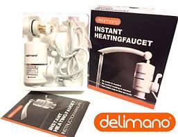 Проточный водонагреватель кран Delimano, электрический Делимано