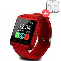 UWatch Умные часы Smart U8. Красная. Red, фото 1