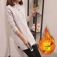 Супер теплый свитер туника, фото 1