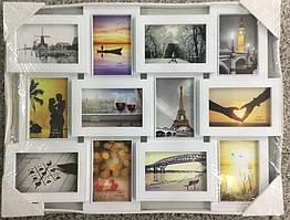Рамка коллаж на 12 фото, 3003-1, (M30 12)