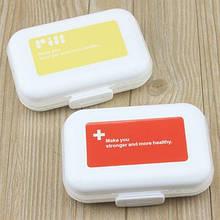 Таблетница - органайзер для таблеток на 8 ячеек, контейнер