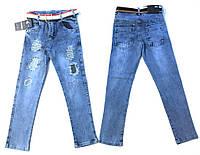 Качественные джинсы для девочки 8-12 лет