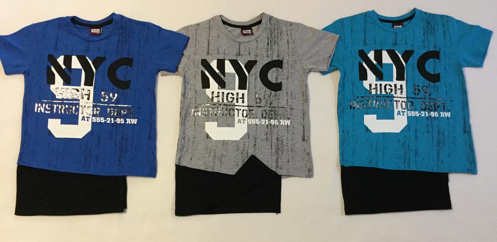Футболка Нью-Йорк 9-12 лет