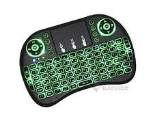 Беспроводная мини клавиатура с подсветкой, фото 3