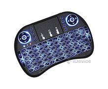 Беспроводная мини клавиатура с подсветкой, фото 2