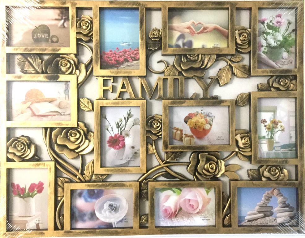 Фоторамка на стену для 12 фото Family (WB1712)