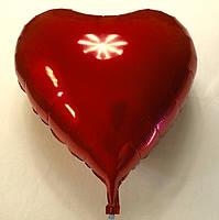"""Фольгированный шар """"Сердце красное  24""""(7174)"""
