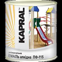 Kapral ПФ-115 - Універсальна алкідна емаль, 0,9 кг , бірюзова