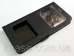 Чехол книжка с окошками momax для Huawei P20 Pro черный