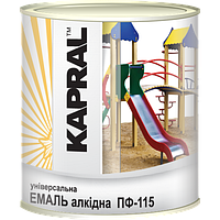 Kapral ПФ-115 - Універсальна алкідна емаль, 0,9 кг , помаранчева