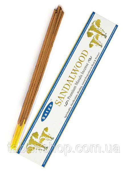 Аромапалочки Satya Premium Sandalwood, 15 г