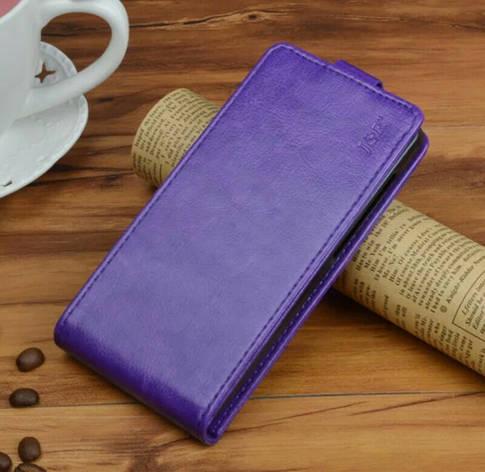 Чехол откидной для Coolpad LeEco Cool 1 Dual фиолетовый, фото 2