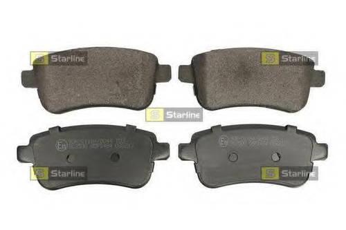 Колодки тормозные дисковые, к-кт. STARLINE BDS331 на DACIA LOGAN пикап (US_)