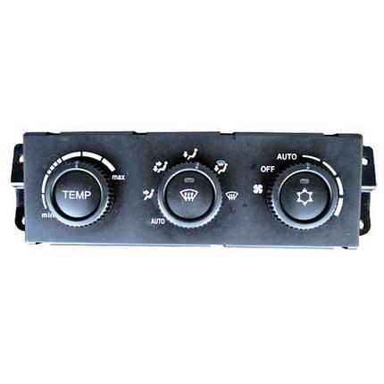 Блок управления отопителем ВАЗ-2170 с климатической системой Panasonic, фото 2
