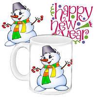 Кружка подарок с принтом Новый год 2019 656584685