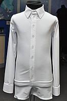 Рубашка мужская, комбидресс для танцев Стандарт матовый бифлекс.