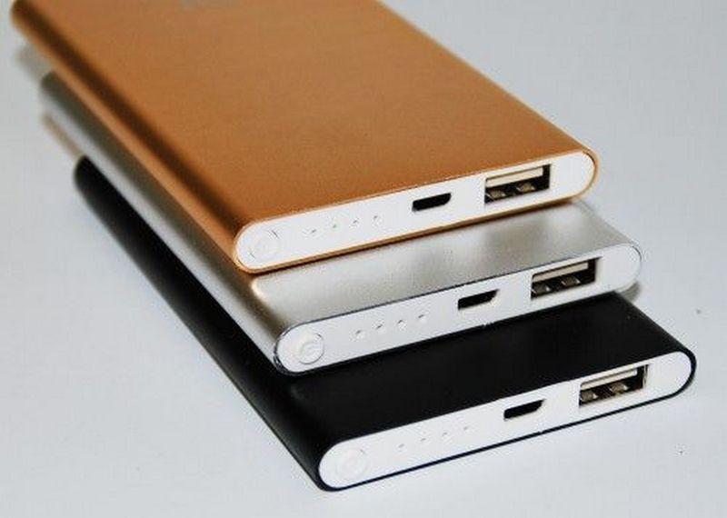 Павербанк Power Bank Xiaomi Mi Slim 24000 mAh, супер тонкий