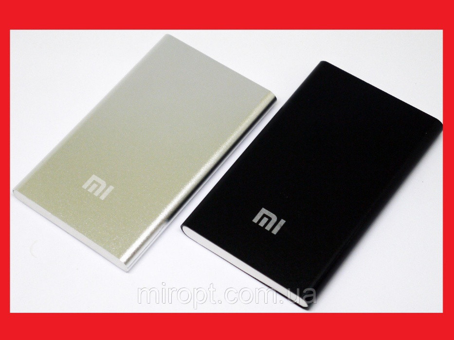 Распродажа!! Power Bank Xiaomi Mi Slim 12000 mAh, супер тонкий