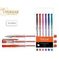 Набор гелевых ручек TUKZAR TZ-142-6 неон.