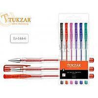 Набор гелевых ручек TUKZAR TZ-142-6 неон., фото 2