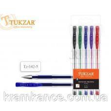 Набор гелевых ручек TUKZAR TZ-142-5 .