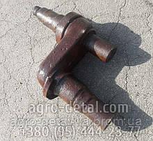 Ось коленчатая Б77.32.040-01 направляющего колеса (болотоход),трактора ДТ-75,ДТ-75Н,ДТ-75М,ДТ-75МВ,ДТ-75НБ