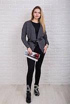 Модный кардиган женский (48-54) , доставка по Украине, фото 2