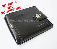 Чоловічий чоловічий шкіряний гаманець портмоне гаманець MenBense, фото 1