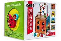 Деревянный игровой центр Развивающий куб B24524 KABI