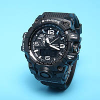 Стильные  Часы спортивные Casio G-Shock GWG-1000 Black-White(реплика)