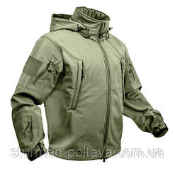 Куртка тактична ОРС (SOFT SHELL) колір полин США