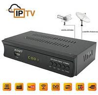 Full HD Dvb-T2 і Dvb-S2 ТВ тюнер IP ТВ комбо Youtube CS ключ H. 264 AC3 wi-Fi 3g. Підтримка Dolby AC3