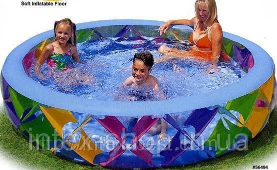 Бассейн детский надувной Intex 56494 Размеры: 229x56см, фото 2