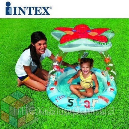 Надувной бассейн Морская звезда Intex 57428, фото 2