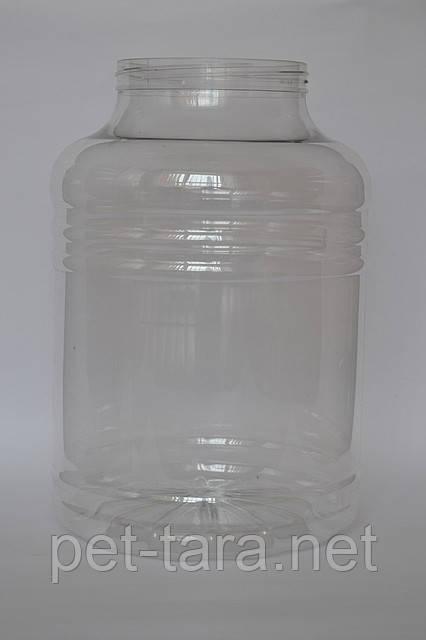 Тара пластикова Пет Банку ємністю 6, 8, 10 Літрів від виробника