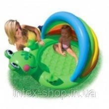 57416 Intex: Бассеин веселый лягушонок, фото 2