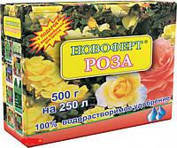 Удобрение Новоферт для Роз повышает имунитет растения, упаковка 500 г на 250 л воды