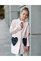 Кашемировое весеннее пальто для девочки.Новинка 2018., фото 1