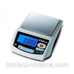 Весы лабораторные электронные CAS MWP-1200Н (не поставляются)