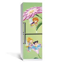 Наклейка на холодильник Сказка (самоклеющаяся пленка фотопечать) 600*2000 мм глянцевая без ламинации