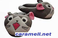 Домашние тапочки игрушки Котенок Размер 25 - 45