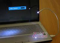 USB LED светодиодная лампа подсветка для клавиатуры.