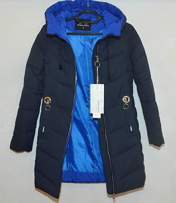 Зимняя женская куртка с капюшоном 2XL, фото 3