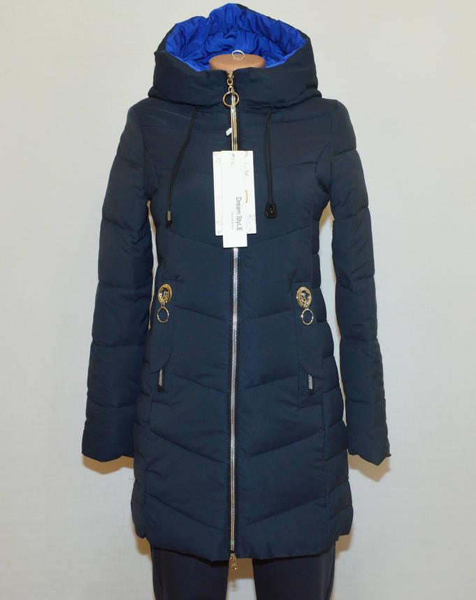Зимняя женская куртка с капюшоном 2XL, фото 2